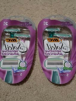 Packs BIC Soleil Sensitive Advanced Disposable Women's Shav