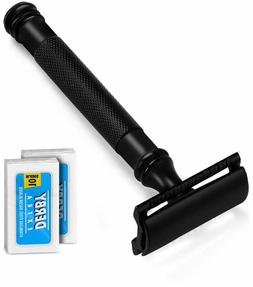 4 Inch Long Handle Double Edge Safety Razor 20 Derby Blades