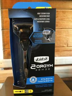Schick Hydro Sense Hydrate Razors for Men with Shock Absorbe