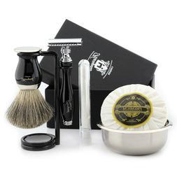 Beauty and Personal Care Men's Grooming Shaving Kit Black Sa
