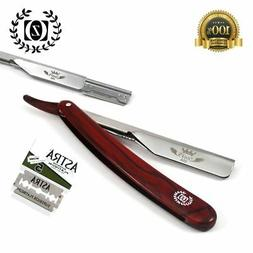 Zeepk Cut Throat  Straight Razor for Barbers & Salon + Free