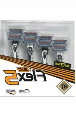 Bic Flex 5 Disposable Razor 8 Ct. Holiday Gift Set NEW