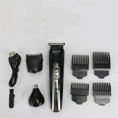 KEMEI Hair Trimmer Clipper Machine Razor US