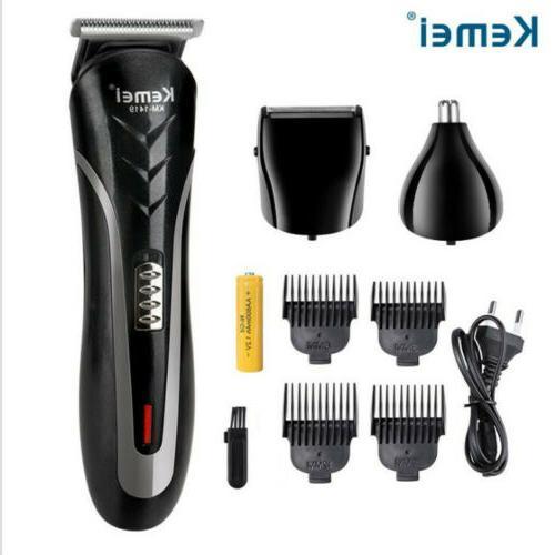 men electric hair trimmer clipper shaver machine