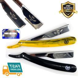 Professional Barber Hair Shaving Razor Straight Knife Navaja