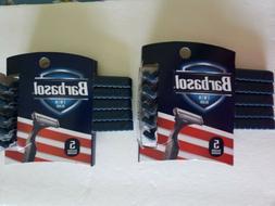Barbasol Twin-Blade Razors, 5-ct. Packs X 2 Plus Shaving Cre